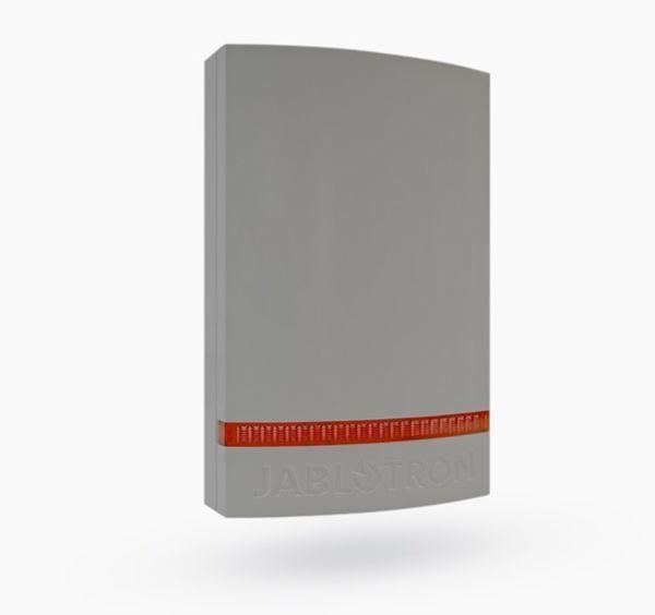 JA-1X1A-C-GR Couvercle pour sirènes JA-111A, JA-151A, flash rouge, couvercle gris en polycarbonate résistant aux intempéries.