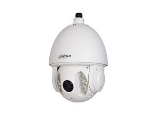 "Dahua DH-SD6A230-HNI PTZ high speed IR economy IP PTZ dome for outdoor use. This ""true day / night"" speeddome is equipped with built-in IR LEDs with a maximum range of 150m, the intensity of this IR lighting is proportional ..."