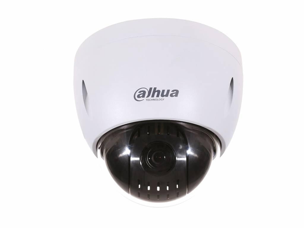 Dahua SD42212T-HN-S2 Caméra PTZ Full HD, zoom optique 12x contrôlable, IP66, adaptée au plafond ou au mur avec support optionnel. Avec une plage de zoom optique 12x, il s'agit d'un appareil photo idéal pour la plupart des situations. Par le haut PoE possi