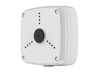 caja de montaje conveniente para deshacerse de los cables y los conectores de los siguientes modelos de cámaras Dahua; CA-FW [G / R], HAC-HFW [S / R], HDC-HFW [C / S], IPC-HFW [C / S / R], CA-DW [E / F / H], IPC -HDW [S], HAC-HDW [S / C]