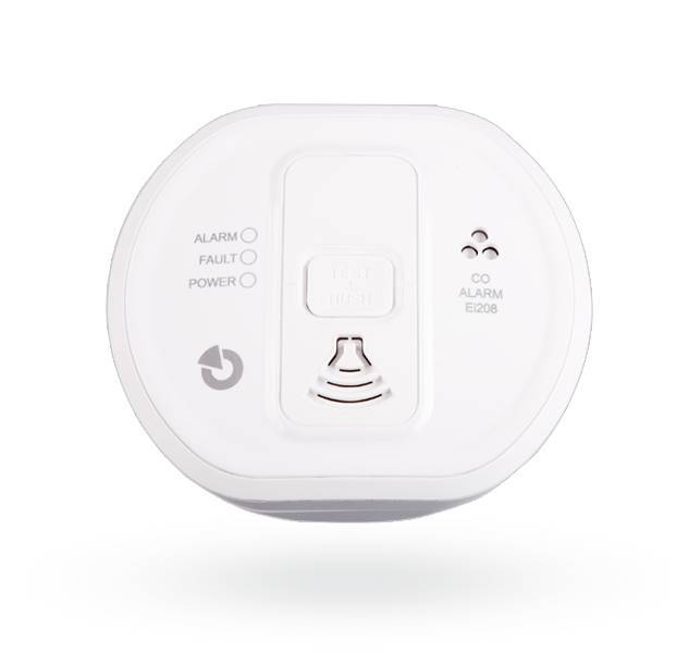 This CO detector can be connected to the Jablotron 100 using the JA-150G-CO module. The detector is certified for use in buildings, caravans and boats. The detector gives excessive carbon monoxide concentration both optically with an LED and ...