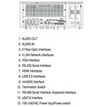 Hikvision DS 96128NI-E16H Netzwerk-Videorecorder (128 Kameras) (NVR)