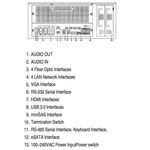 Hikvision DS-96128NI-I16 Netzwerk-Videorecorder (128 Kameras) (NVR), bis zu 12 MP-Kameras, 576 MB