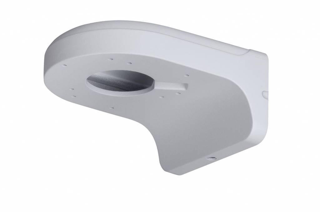 Suporte de parede para ser usado com as câmeras com dome de zoom IP HDBW2100 / 2200 / 2300R-Z / VF, HDBW2101 / 2201R-ZS / VFS e também para as câmeras com dome de zoom HDCVI HDBW1100 / 1200/2120 / 2220R-VF, HDBW2120 / 2220R-Z