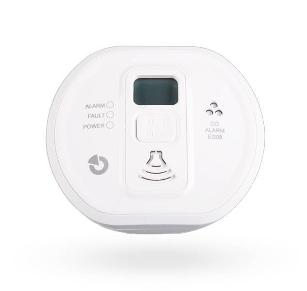 Dieser CO-Detektor kann mit dem JA-150G-CO-Modul an das Jablotron 100 angeschlossen werden. Der Detektor ist für den Einsatz in Gebäuden, Wohnwagen und Booten zertifiziert. Der Detektor liefert eine optische Kohlenmonoxidkonzentration sowohl optisch mit e