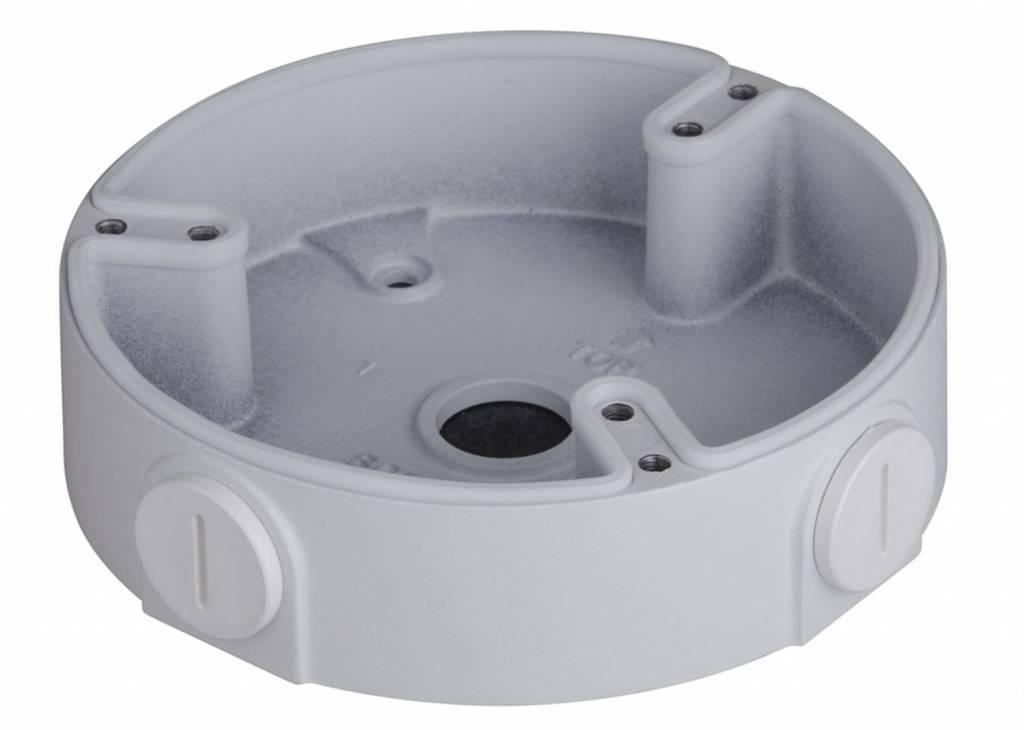 Scatola di montaggio Dahua PFA137 per uso interno o esterno con telecamere IP HDBW4120 / 4220/4221 / 4421E / 4431E (-AS) / 2200 / 2300R-Z / VF, HDBW2101 / 2201R-ZS / VFS e HDCVI telecamere HDBW1100 / 1200/2120 / 2220R- VF, HDBW2120 / 2220R-Z