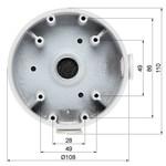 Dahua PFA139 caixa de montagem