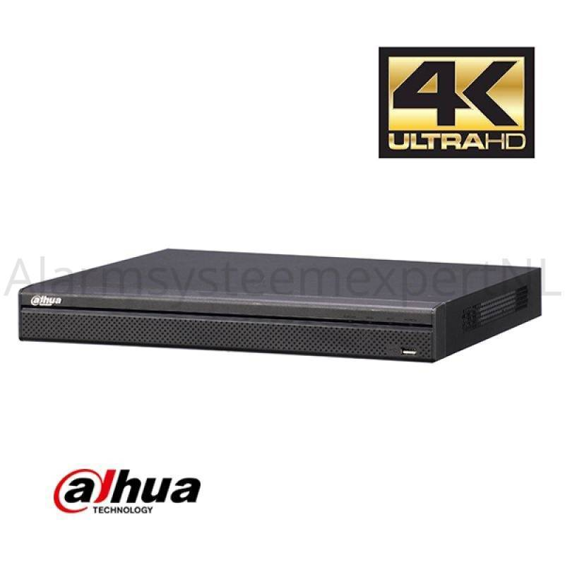 The Dahua NVR4416-16P-4KS2 NVR with PoE is a 4K Network Video Recorder with 16 PoE inputs. A maximum of 16 IP cameras can be connected. This provides the cameras with the necessary power directly. You need this mania ...