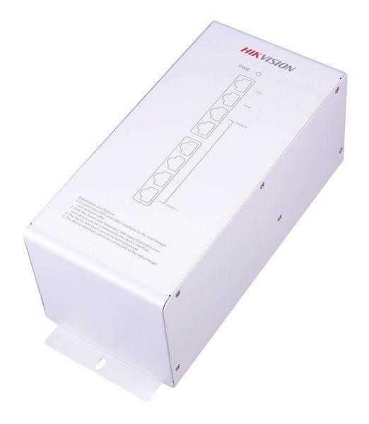 El Hikvision DS-KAD612 es un distribuidor de alimentación de audio / vídeo integrado con el apoyo de la red. El módulo tiene una fuente de alimentación estabilizada integrada 16, y las interfaces 10 / 100M LAN, de los cuales 12 se alimentan a través de ca