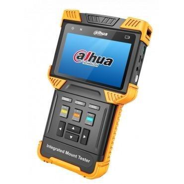El Dahua PFM900 es un monitor de prueba de cámara multifuncional todo tipo de cámaras. El probador puede ser utilizado como un monitor de prueba para HD CVI, IP y cámaras analógicas. Además, este dispositivo tiene varias características a la cámara de ala