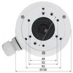 Hikvision Caja de montaje DS-1280ZJ-XS