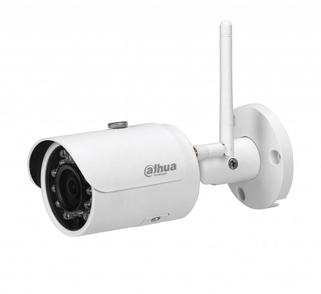 Dahua IPC-HFW1435S-W Network Camera is a 4 MegaPixel Wi-Fi network camera with HD 4Mp performance and H.264 / H265 and MJPEG compression. Power supply via a 12volt adapter. Ideal for the home, office or shop. With its stylish design it fits i ...