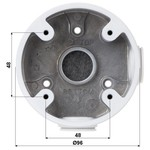Dahua caixa de montagem PFA13A para utilização no exterior