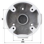 Dahua Caja de montaje PFA13A para uso en exteriores