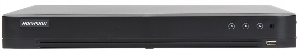 This tribrid DVR can handle analog cameras as well as Turbo cameras (max. 4MP) and IP (max. 4MP). Ideal as a replacement and upgrade of your old analog camera system using your current coaxial cable.