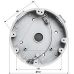 Dahua Boîtier de montage PFA138 pour une utilisation en extérieur