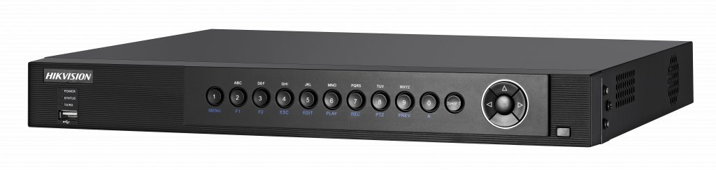 The DS7604HUHI-F1 / N is an ultra hybrid DVR. By default, this device is equipped with 4 inputs for HD-TVI cameras and 4 IP cameras can be connected. An extra IP channel will be released for each HD-TVI channel that you switch off!