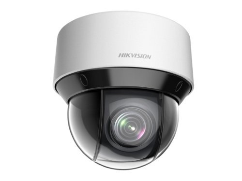 De Hikvision DS-2DE4A225IW-DE, Ultra Low Light, 2MP, PTZ domecamera, IR 50mtr, PoE+ 25x zoom is een compacte PTZ Mini Dome Camera die niet alleen uitblinkt door een hoge beeldkwaliteit, maar ook door de krachtige PTZ functie. De camera kan maar liefst 360
