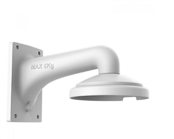 Wall support DS-1605ZJ for Hikvision PTZ mini dome camera.