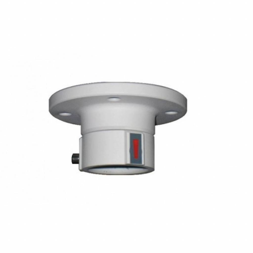 Ceiling mounting bracket Hikvision outside PTZ cameras.
