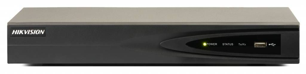 El grabador de video en red (NVR) Hikvision DS-7604NI-K1 es el grabador de video en red 4K de nivel de entrada al que se pueden conectar cuatro cámaras IP con una resolución máxima de 8Mp. Las cámaras deben estar conectadas a este NVR a través de un conmu