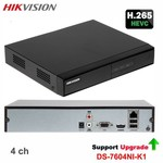 Hikvision DS-7604NI-K1 Network Video Recorder (NVR) 4K resolution