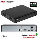 Hikvision Resolução 4K do gravador de vídeo em rede (NVR) DS-7604NI-K1