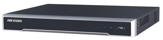 O gravador de vídeo em rede Hikvision DS-7608NI-K2 (NVR) é o gravador de vídeo em rede Ultra HD de nível de entrada para o qual oito câmeras IP podem ser conectadas com uma resolução máxima de 8Mp. As câmeras servem através de um switch de rede ou switch