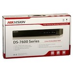 Hikvision DS-7616NI-K2 Netzwerk-Videorekorder (NVR) 4K-Auflösung, 2x SATA