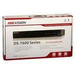 Hikvision Gravador de vídeo em rede DS-7616NI-K2 (NVR) resolução 4K, 2x SATA