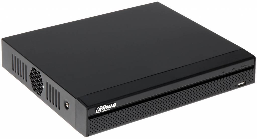 O NVR Dahua NVR4104HS-P-4KS2 de 4 canais é um gravador de vídeo em rede 4K com 4 entradas PoE. Podem ser conectadas até 4 câmeras IP. Isso fornece diretamente às câmeras a energia necessária. Você não precisa ...