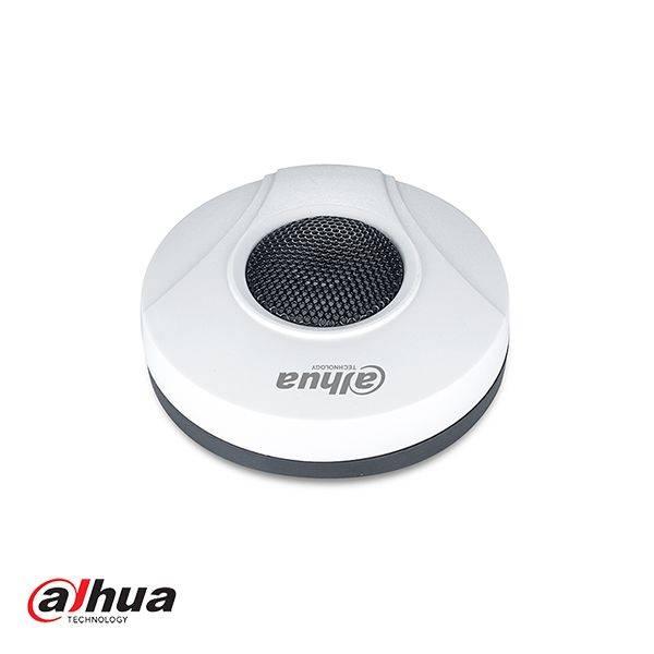 Piccolo microfono con omni direzionali gamma che serve una telecamera IP che è dotato di jack audio. 12volt alimentato. Il cibo non incluso. Usare con più telecamere IP e se correttamente le connessioni.