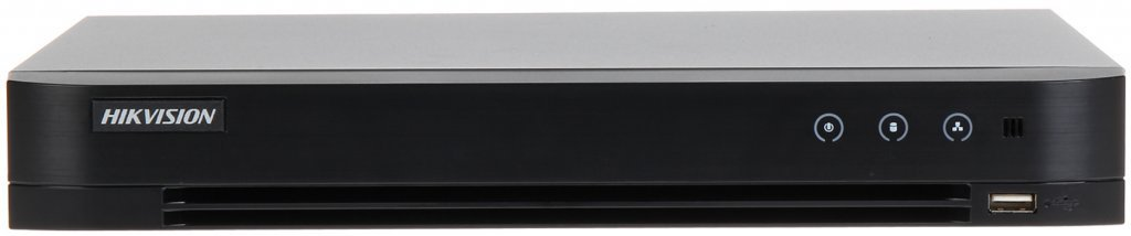 This Hikvision DS-7208HQHI-K1 Turbo HD recorder 8 channel recorder can handle analog cameras, Turbo cameras and IP cameras. This is an ideal solution if you want to upgrade your current old analog system to Full HD image quality.
