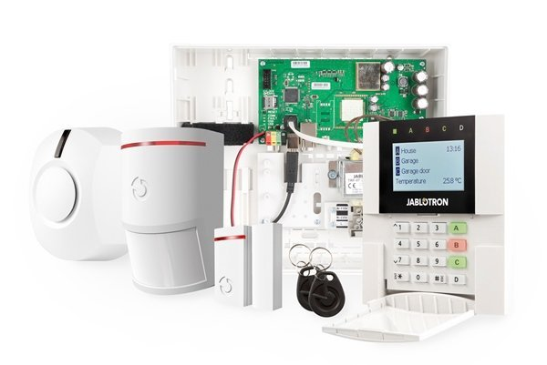 The Jablotron Enterprise system can be ordered separately or through this starter kit. In the starter kit you will find all the components that serve as the basis for an installation. All detectors of the Jablotron 100 series can be connected, with the ex