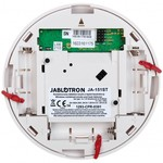 Jablotron JA-151ST-A Détecteur de fumée et de chaleur sans fil avec double fonction sirène (cambriolage et alarme incendie)