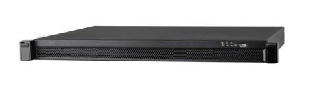 Dahua Network Video Recorder, 4K NVR 24-Kanäle der Pro-Serie mit 24 x PoE-Anschlüssen und Möglichkeit für zwei interne Festplatten