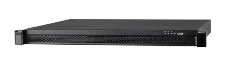 Dahua Network Video Recorder, Pro series 4K NVR 24 channels with 24 x PoE ports and possibility for two internal HDDs