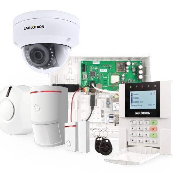 JK-100KR-KIT, IP dialer, Radio module + Video verification camera