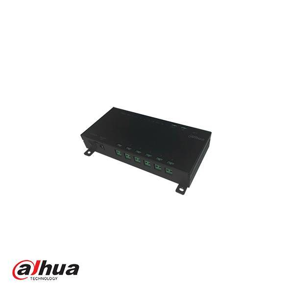 DAHUA 6-PORT 2-WIRE SWITCH APARTMENT INCL POWER SUPPLY