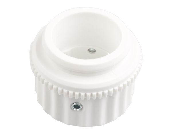 Adapter voor de aansluiting van de actuator JB-150N-HEAD op een radiatorklep. Het pakket bevat 5 adapters.