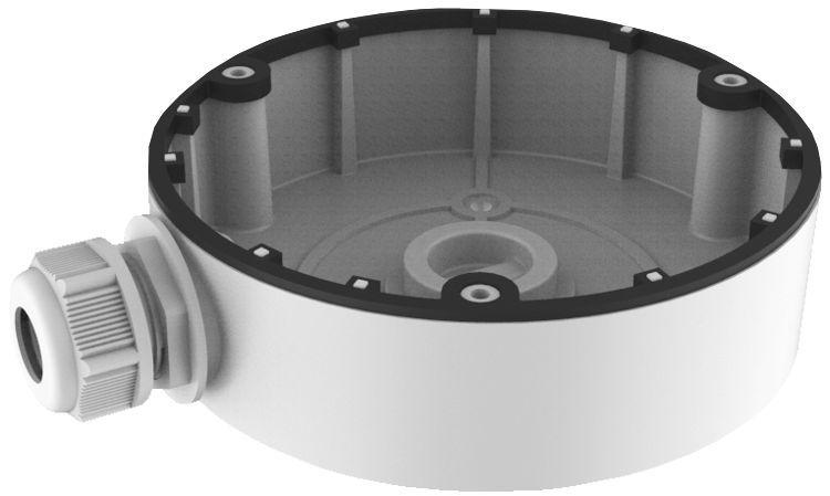 Farbe Hik weiß, Alu, 126 x 35 mm, geeignet für DS-2CD2312-I, DS-2CD2332-I, DS-2CD2322WD-I, DS-2CD2342WD-I, DS-2CD23X5FWD-I, DS-2CD23X3G0-I