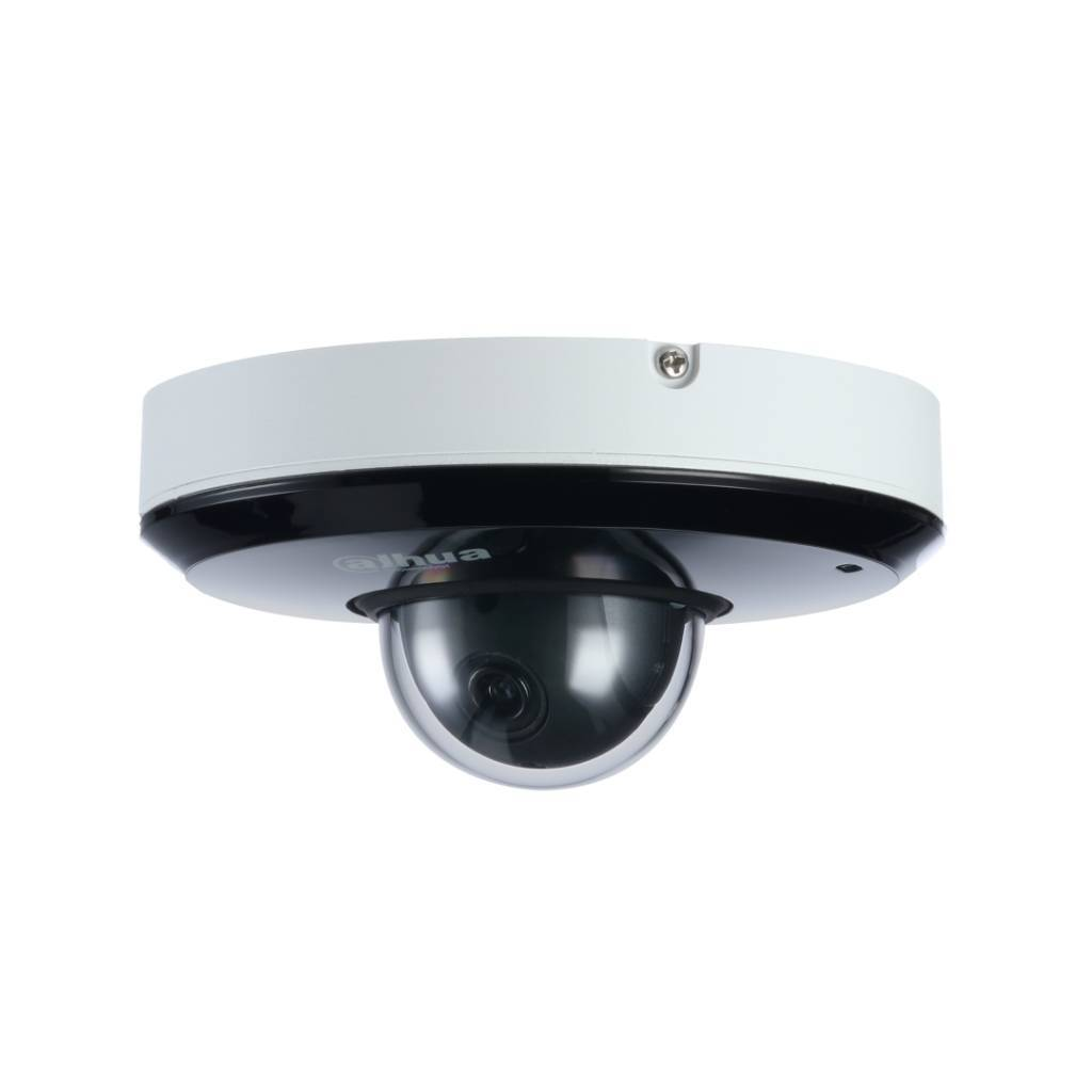 Dahua SD1A203T-GN Full HD Vandal resistant Network Mini PTZ Dome camera, IP66, (Pan, Tilt and zoom camera), PoE and 12vdc feed. Displays images in a Full HD 1920x1080 resolution. The camera features the Dahua Starlight Technology making it ideal for appli