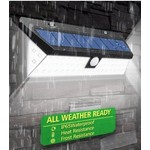 AlarmsysteemExpert.nl Lámpara de descarga eléctrica LED para uso en exteriores con sensor (inalámbrico)
