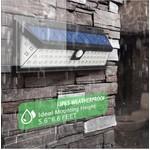 AlarmsysteemExpert.nl Luz de advertência ao ar livre LED com sensor (sem fio)