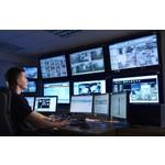 AlarmsysteemExpert.nl Connessione aziendale in sala di controllo all'anno