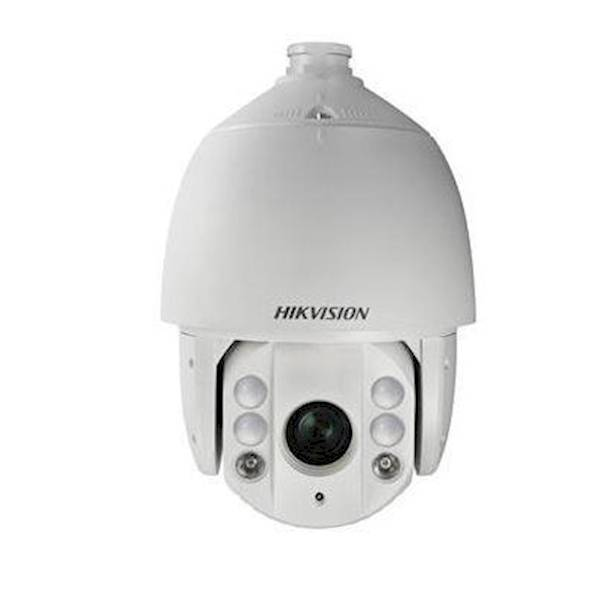 This Hikvision PTZ can capture high-quality video in a low light environment with a 2MP lens. The built-in CMOS chip enables WDR and real-time 1920 x 1080 resolution. Using the 30 × optical zoom lens and the IR cut filter, the camera offers more details a