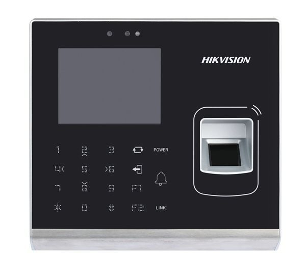 The DS-K1T201EF-C is a card reader with built-in camera and touch buttons from the access control line of Hikvision. The card reader can be connected via RS-485 or Wiegand. The camera image can be recorded (also on motion) as a separate stream in all Hikv