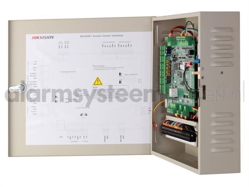 Controlador de puerta completo Pro, 4 puertas, DS-K2604