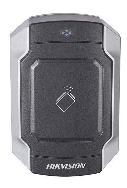 Der DS-K1104M ist ein vandalensicherer Kartenleser aus der Zutrittskontrolllinie von Hikvision. Der Kartenleser kann über RS-485 oder Wiegand angeschlossen werden. Der schön gestaltete Kartenleser kann sowohl im Innen- als auch im Außenbereich verwendet w