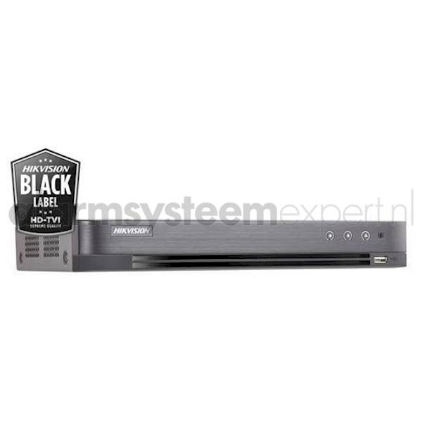 DVR 4 channel, PoC, up to 3MP, max 1HDD, DS-7204HQHI-K1 / P / A